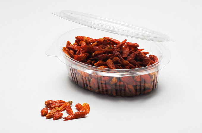Le Squisivoglie - Sunitaly - Dried Chilli Peppers in pan zip 50g
