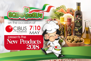 Save the date - Le Squisivoglie at Cibus 2018