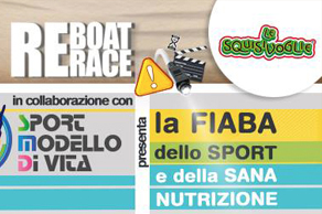 """Make the difference with REBOAT RACE"" and ""Sport Modello di Vita""invite everybody sharing the challenge"
